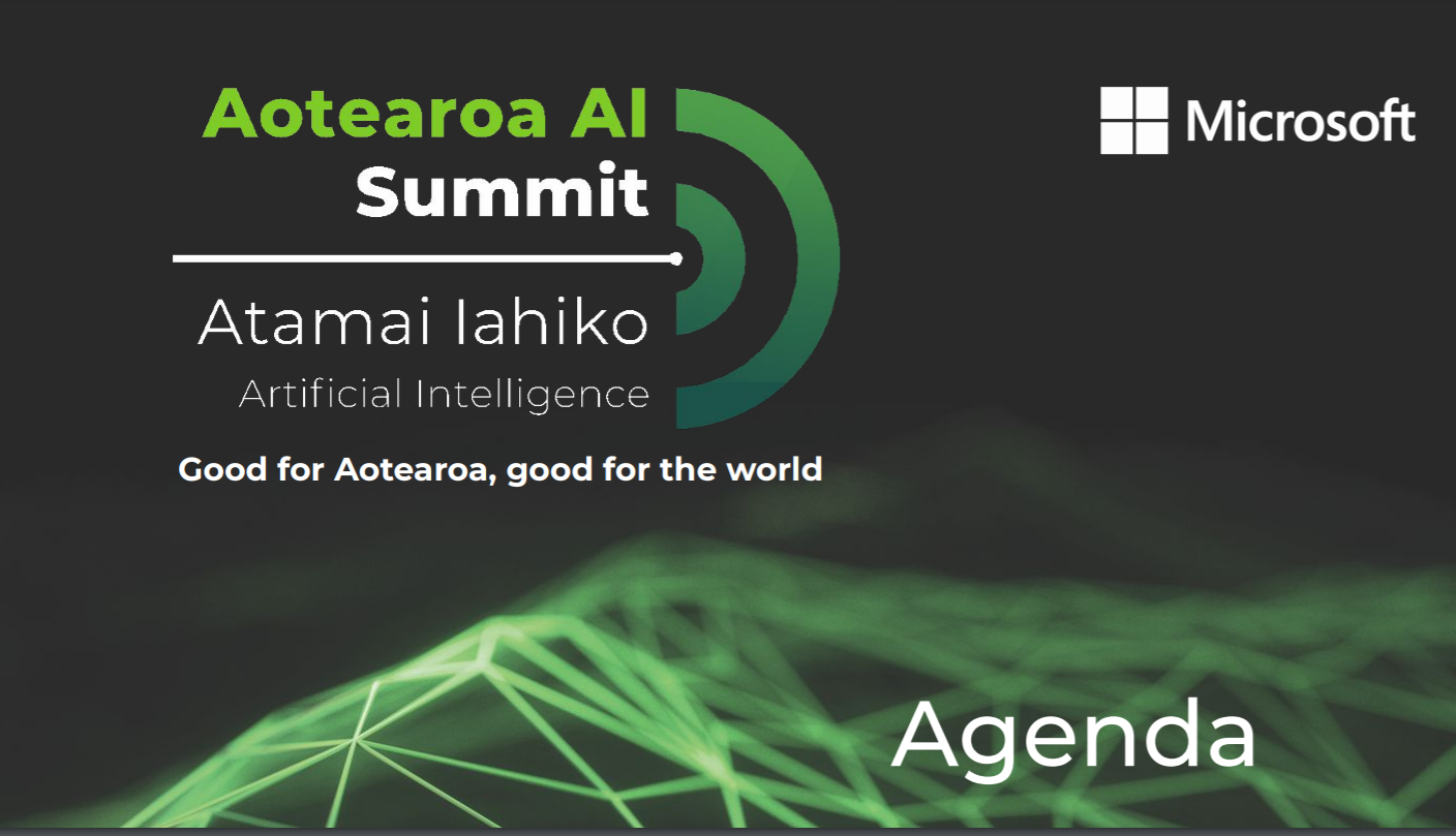 AI Summit Agenda